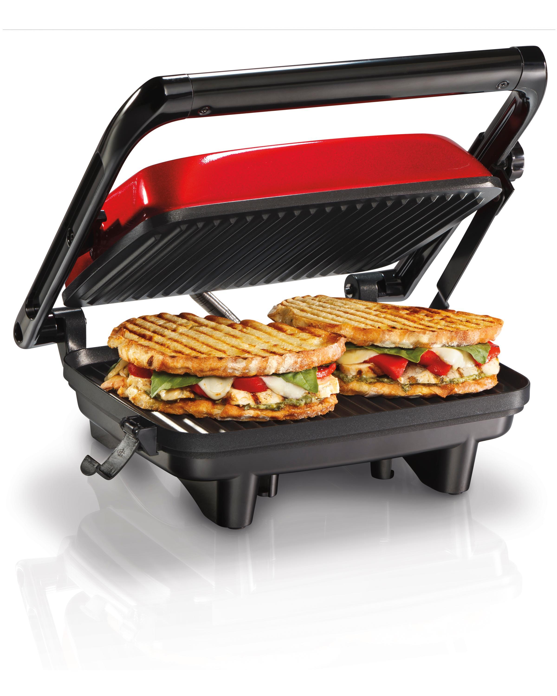 hamilton beach 25462z prensa gourmet para hacer sandwich emparedados panini. Black Bedroom Furniture Sets. Home Design Ideas