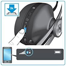 Sennheiser Momentum On-Ear Wireless Battery