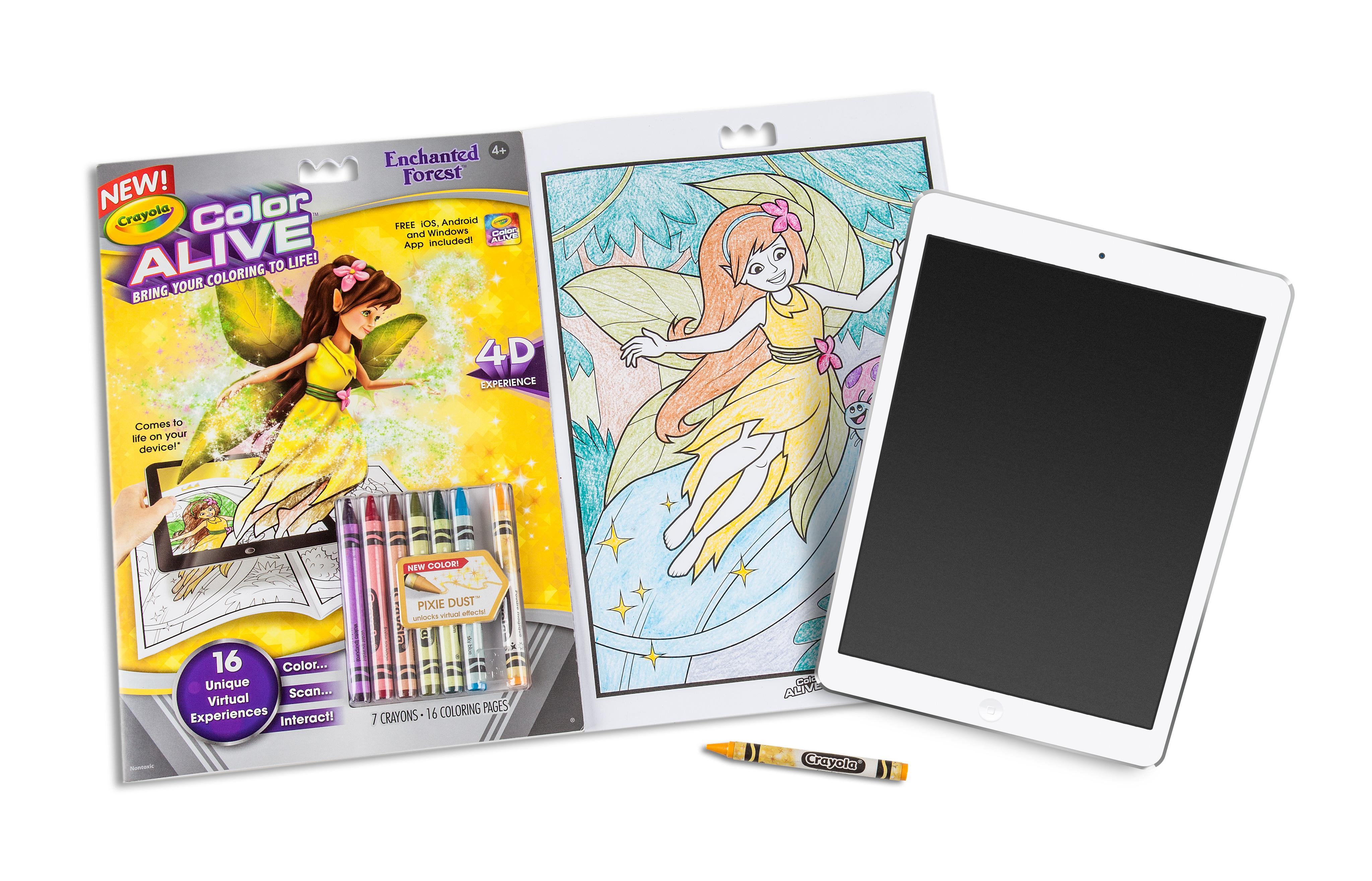 Crayola Colores Vivos Accin Colorear - Combo Set - Barbie y Bosque ...