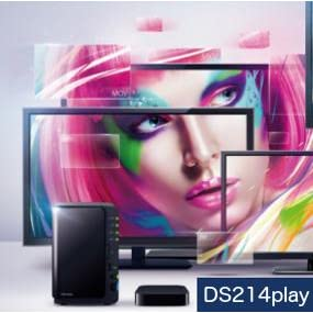 DS214play transcoding MP4, MOV, MKV, and more