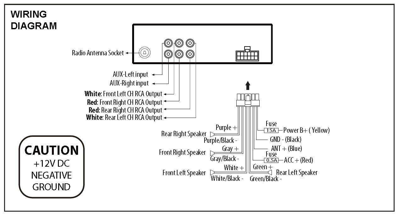 Collection of Diagram Dual Xd250 Stereo Wiring Diagram - Download ...