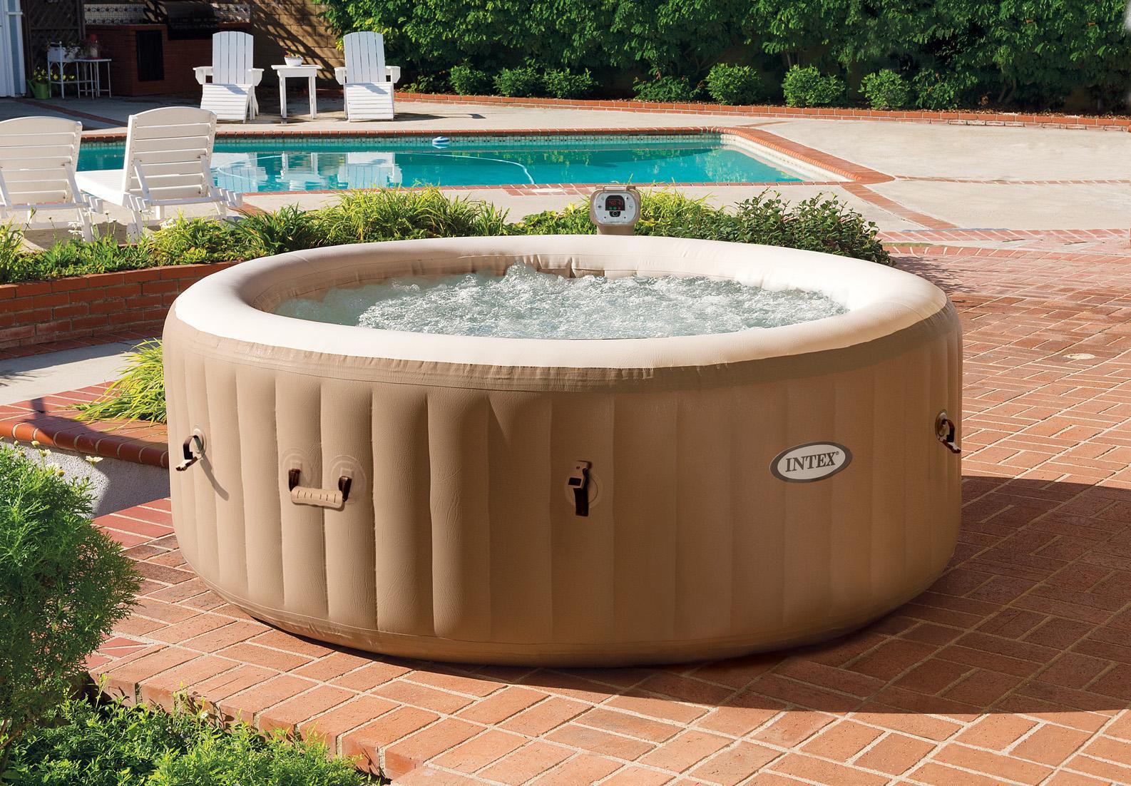 Intex 28403e alberca para piso piscina inflable for Amazon piscinas