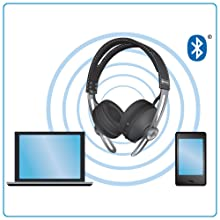 Sennheiser Momentum On-Ear WirelessMulti-device Connectivity
