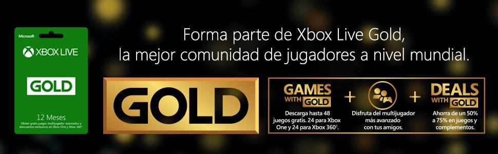 Xbox Live Gold, Xbox Live, Xbox membresía, Xbox One membresía