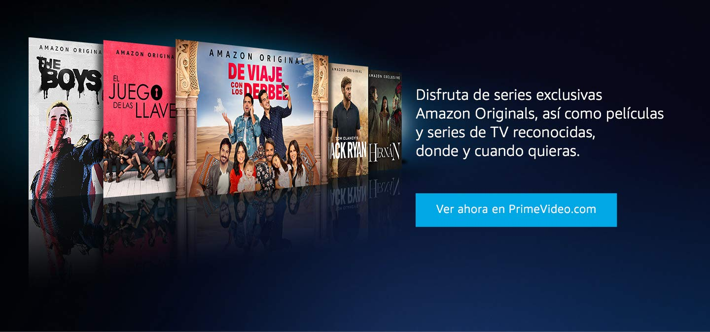 Ve las series Amazon Originals en tu dispositivo movil