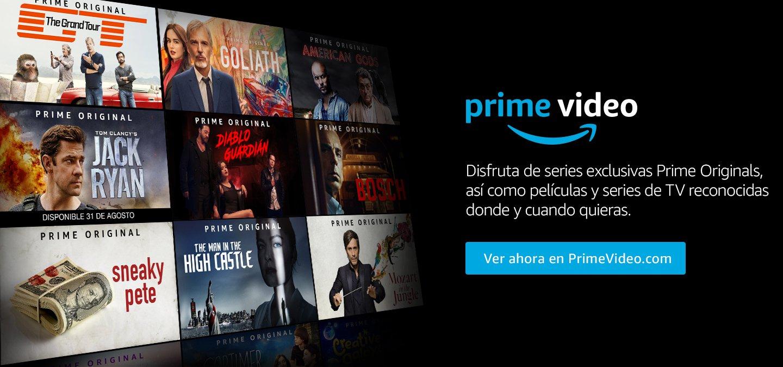 Amazon Prime ahora en Mexico