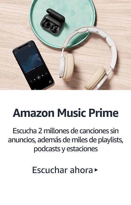 Prime Music Reproduce más de 2 millones de canciones y miles de playlists y estaciones. Escucha ahora