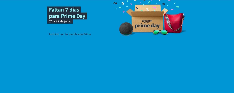 Dos días de ofertas épicas 21 y 22 de junio. Incluidas con tu membresía Prime