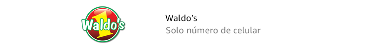 Waldo's | Código de barras y número de celular