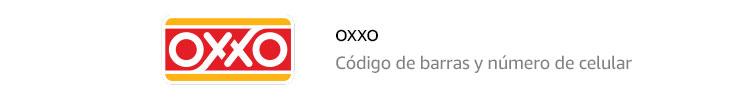 Oxxo | Código de barras impreso y número de celular