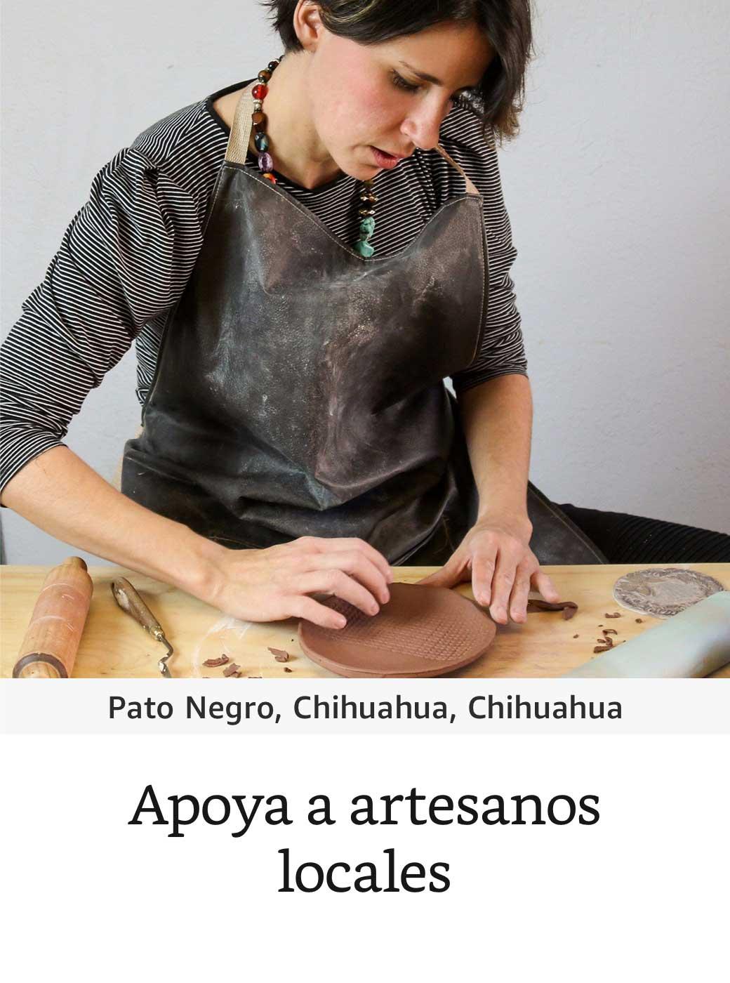 Apoya a artesanos locales