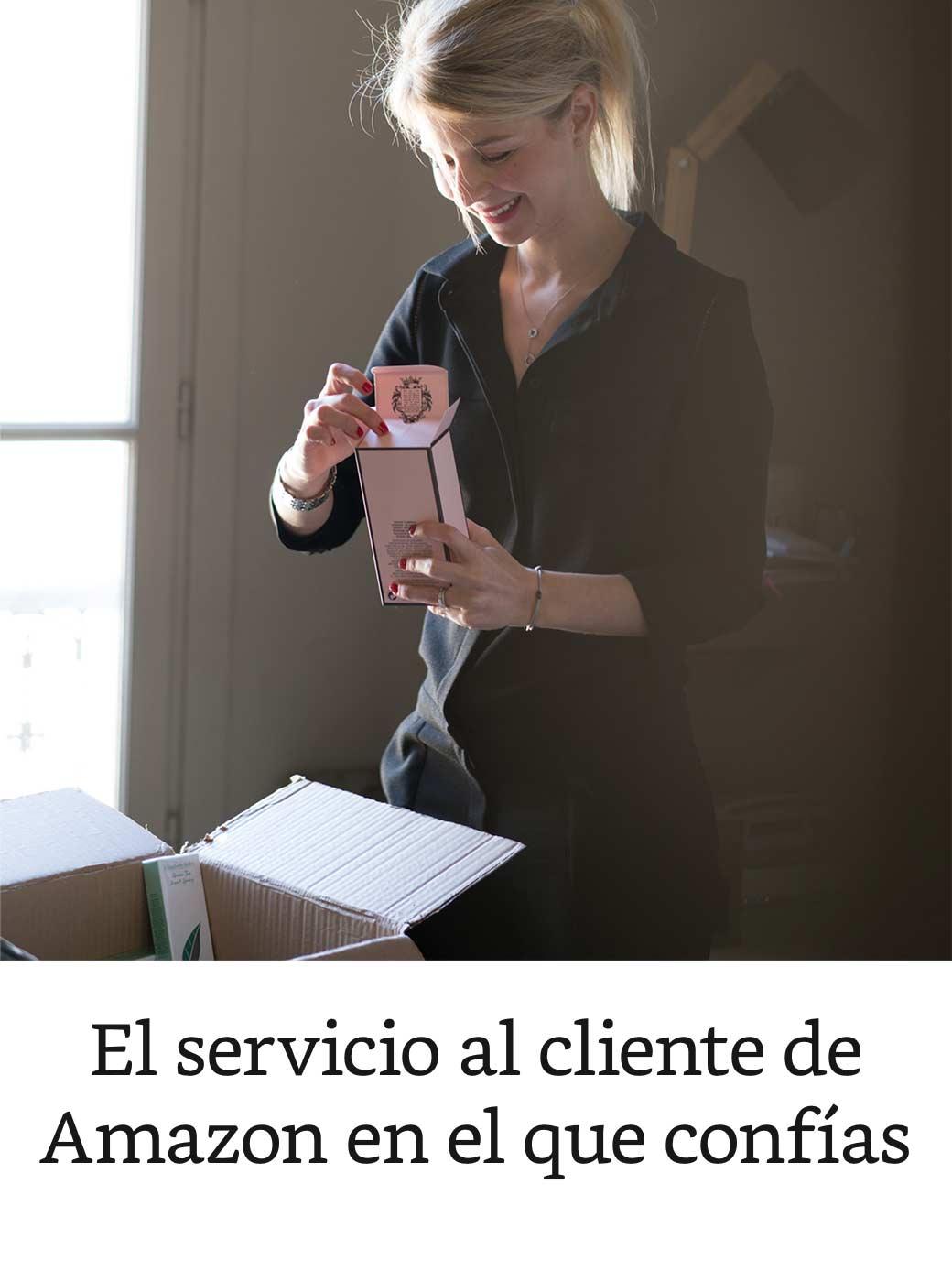 El servicio al cliente de Amazon en el que confias