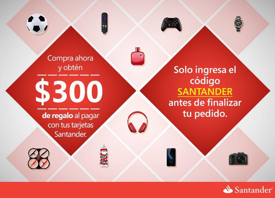 Promocion Santander - Amazon