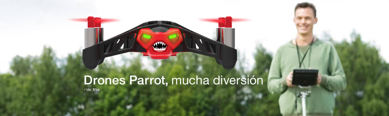 Drones Parrot, mucha diversión