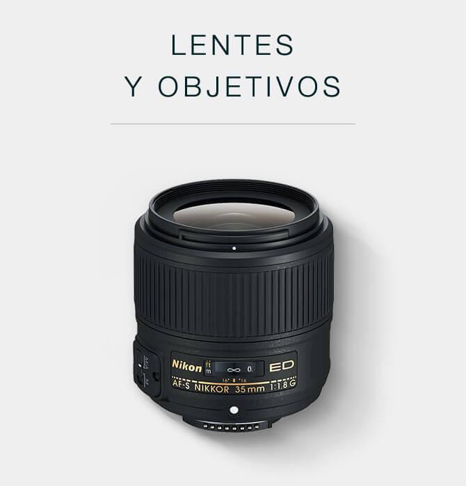 Lentes y objetivos para cámaras