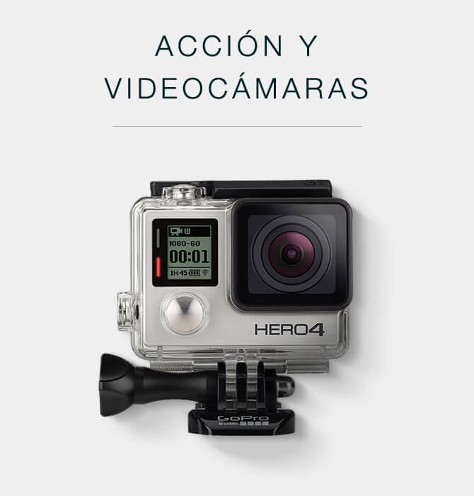 Cámaras de acción y videocámaras