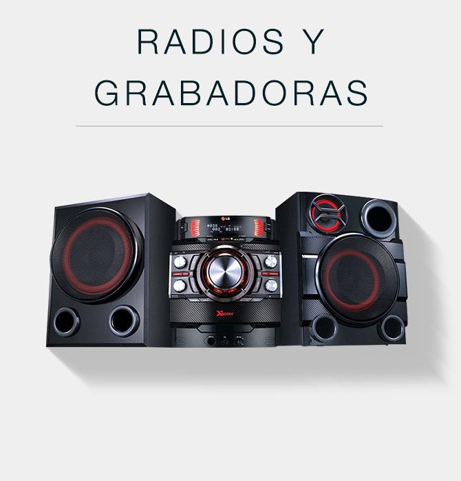 Radios y grabadoras
