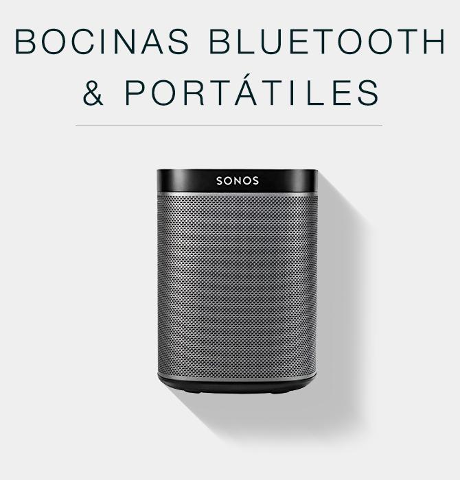 Bocinas bluethooth y portátiles