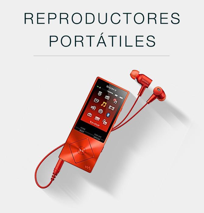 Reproductores portátiles