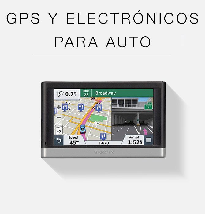 GPS y Electrónicos para Auto