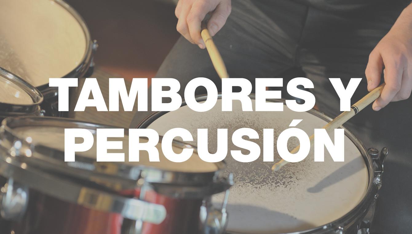 Tambores y Percusión