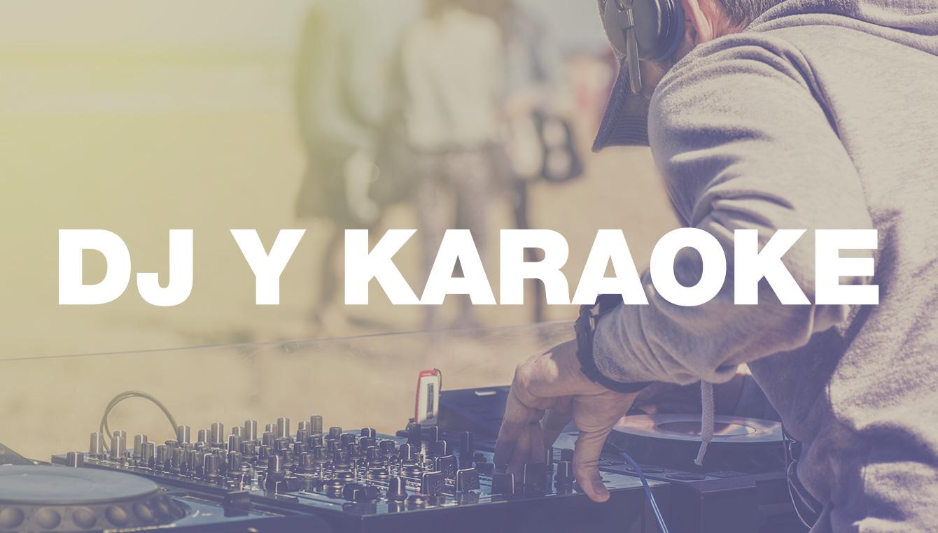 Equipo para DJ y Karaoke