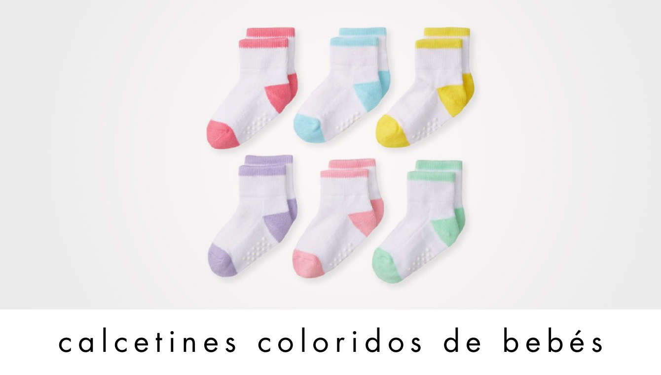 calcetines coloridos