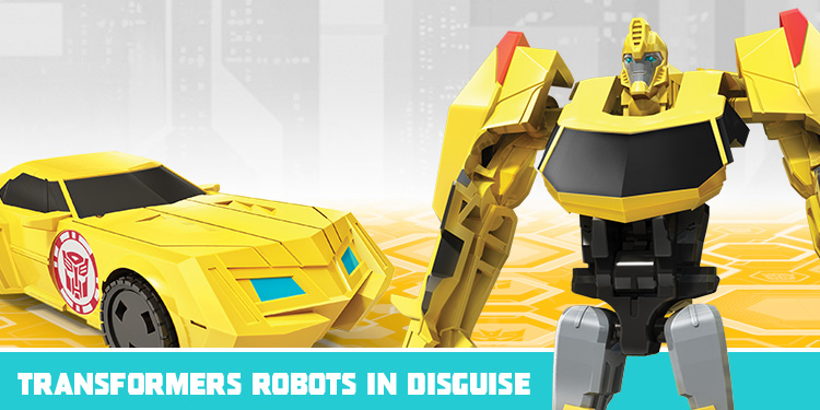 Transformers robotos in disguise