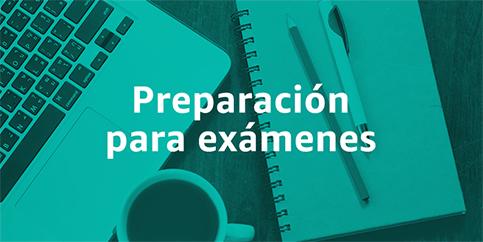 guías de preparación para exámenes