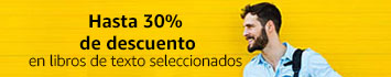 promoción 30% en libros de texto seleccionados