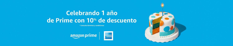 Celebrando 1 año de Prime con 10% de descuento
