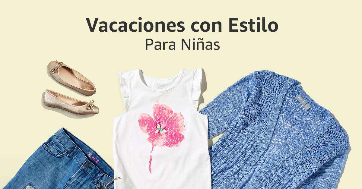 Vacaciones con estilo para niñas