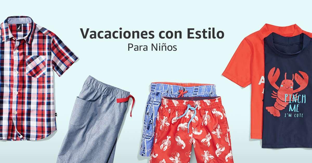 Vacaciones con estilo para niños