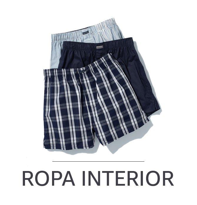 ROPA INTERIOR