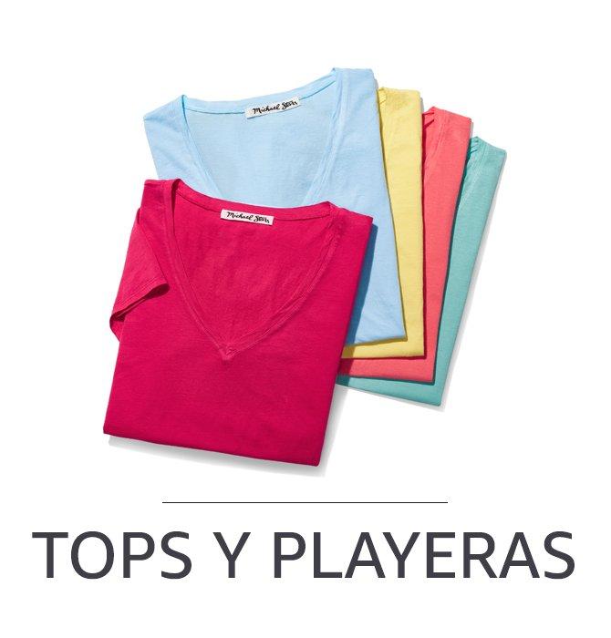 Tops y playeras