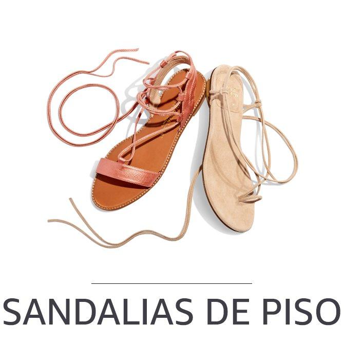 Sandalias de piso