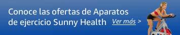 Hasta 30 porciento en aparatos de ejercicio Sunny Health