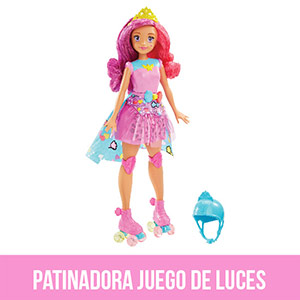 Barbie Patinadora Juego de Luces