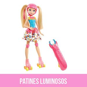 Barbie patines luminosos