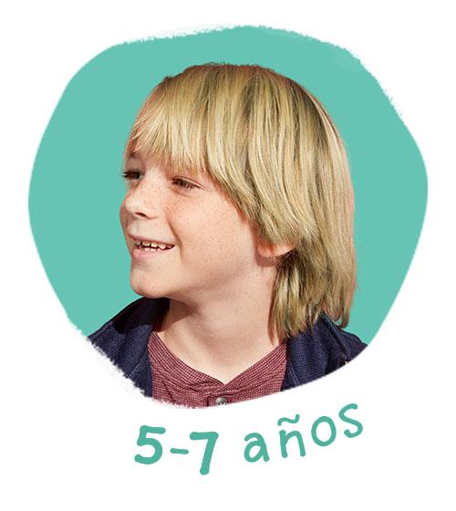 5 a 7 años
