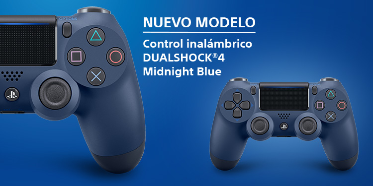 Control DualShock 4 Midnight Blue
