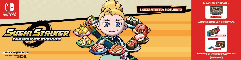Sushi Striker - Nintendo Switch