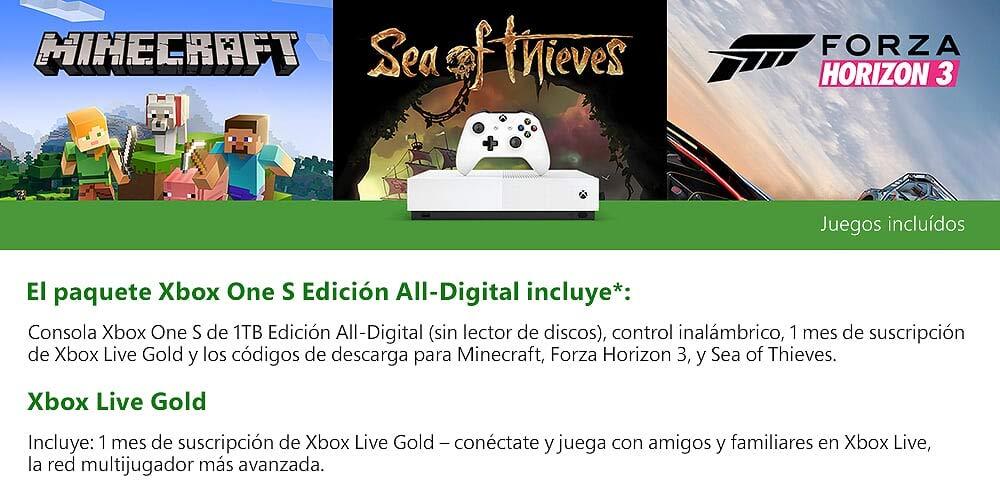 Juegos incluídos en la consola All Digital