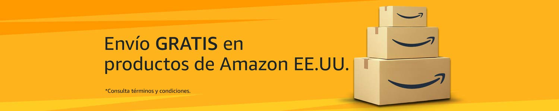 Envíos gratis en tu primera compra de productos vendidos por Amazon E.E.U.U