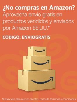 ¿No compras en Amazon? Aprovecha envío gratis en productos vendidos y enviados por Amazon EEUU
