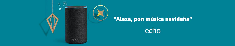 Echo | Alexa, pon música navideña