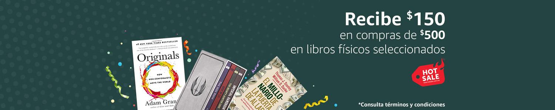 $150 en compras de $500 en libros físicos participantes