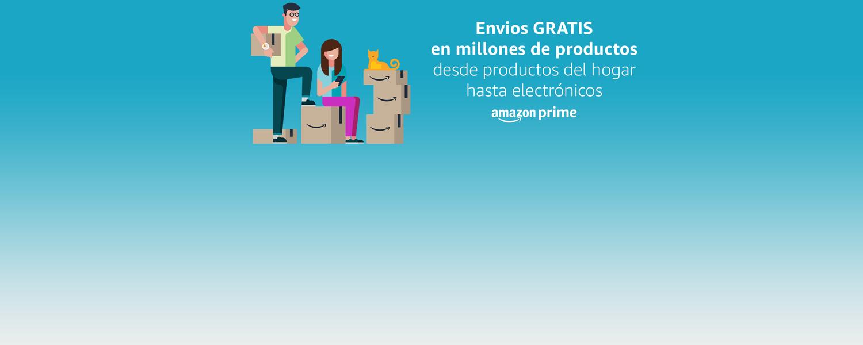 Envíos GRATIS en millones de productos desde productos del hogar hasta electrónicos