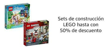 Sets de construcción LEGO hasta con 50% de descuento