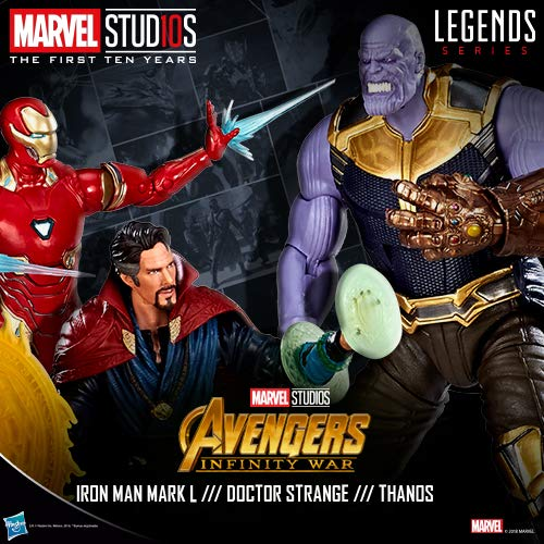 Thanos // Iron Man // Dr Stranger
